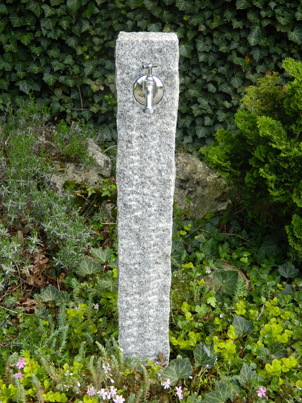 Granit, gespitzt