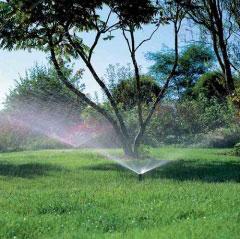 Beregnungsanlage für den Rasen