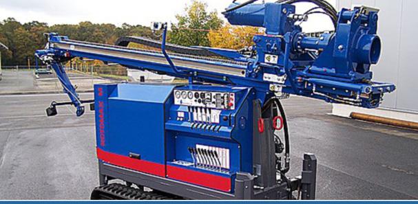 Brunnenbohr-Maschine Rotomax M