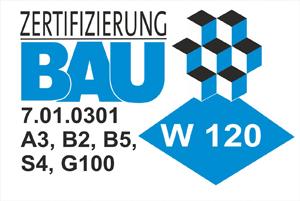 Zertifizierung W120