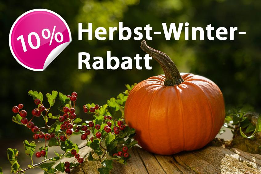 Herbst-Winter-Spezial - 10% Rabatt auf die Brunnenbohrungen